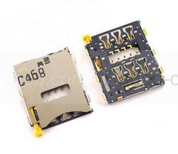 Считыватель Nano SIM-карты Sony Xperia Z3 D6633/ D6603/ SGP611/ SGP612/ SGP621, 1278-7930 (оригинал), radan-osp.com - оригинальные комплектующие, фото
