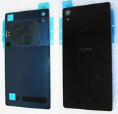 Крышка аккумулятора Sony Xperia Z2 D6502/ D6503, Black, 1281-8245 (оригинал)