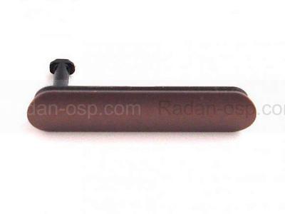 Sony D6603/ D6616/ D6643/ D6653 Заглушка разъема USB, медно-красный, 1282-3049 (оригинал)