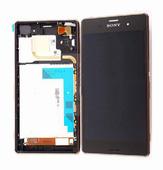 Sony D6633 Сенсор с дисплеем и передней панелью, медно-красный, 1288-5871 (оригинал)