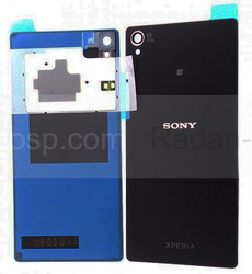 Sony D6603/ D6643/ D6653 Задняя панель, Black, 1288-7838 (оригинал), radan-osp.com - оригинальные комплектующие, фото