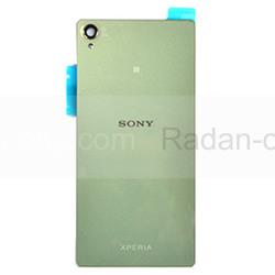 Sony D6603/ D6643/ D6653 Задняя панель, SilverGreen, 1288-7880 (оригинал), radan-osp.com - оригинальные комплектующие, фото
