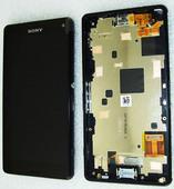Дисплей с сенсором Sony Xperia Z3 compact D5803/ D5833 Black, 1289-2667 (оригинал)