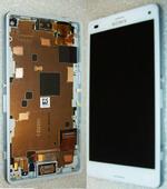Сенсор с дисплеем Sony Xperia Z3 compact D5803/ D5833 White, 1289-2680 (оригинал)