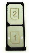 Держатель Nano SIM DS Sony Xperia Z3+ dual, 1289-5345 (оригинал)