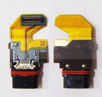 Шлейф с разъемом USB Sony Xperia Z5 Dual E6653/ E6683, 1292-7099 (оригинал)