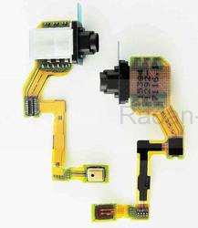 Шлейф верхний с разъемом аудио и микрофоном Sony Xperia Z5 Dual E6653/ E6683, 1292-7116 (оригинал), radan-osp.com - оригинальные комплектующие, фото
