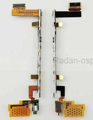 Шлейф с боковыми кнопками и вибромотором Sony Xperia Z5 Dual E6653/ E6683, 1292-7122 (оригинал)