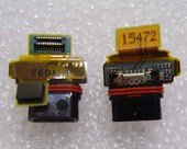 Шлейф с разъемом micro USB Sony Xperia Z5 compact E5803/ E5823, 1293-7601 (оригинал)