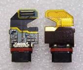Разъем USB на шлейфе Sony Xperia Z5 Premium Dual E6883/ E6853, 1294-2699 (оригинал)