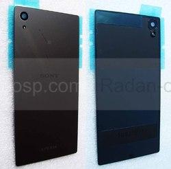 Крышка задняя аккумулятора Sony Xperia Z5 Dual E6653/ E6683 (Black), 1295-0529 (оригинал), radan-osp.com - оригинальные комплектующие, фото
