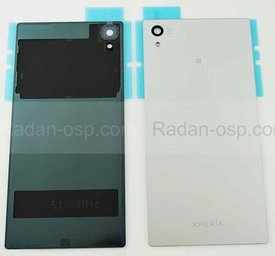 Крышка задняя Sony Xperia Z5 Dual E6653/ E6683 (Silver), 1295-1376 (оригинал)