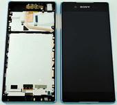 Дисплей с сенсором в сборе Sony Xperia Z3+ E6553 (Aqua), 1295-6310 (оригинал)