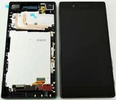 Дисплей с сенсором Sony Xperia Z5 E6653 (Black), 1296-1893 (оригинал)