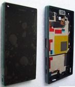 Дисплей с сенсором в сборе Sony Xperia Z5 compact E5803/ E5823 (Black), 1297-3728 (оригинал)