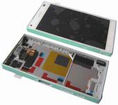 Дисплей с сенсором в сборе Sony Xperia Z5 compact E5803/ E5823 (White), 1297-3732 (оригинал)