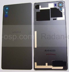 Крышка задняя Sony Xperia X F5122, F5121 (Black), 1299-7889 (оригинал), radan-osp.com - оригинальные комплектующие, фото