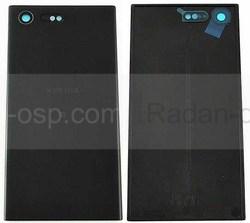 Крышка аккумулятора Sony Xperia X Compact F5321 Black, 1301-7541 (оригинал), radan-osp.com - оригинальные комплектующие, фото