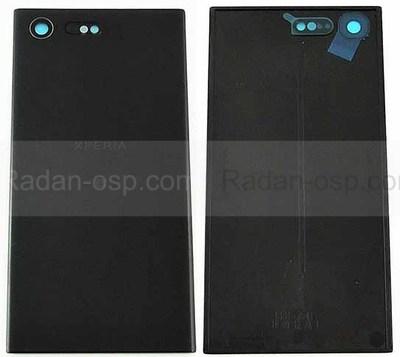 Крышка аккумулятора Sony Xperia X Compact F5321 Black, 1301-7541 (оригинал)