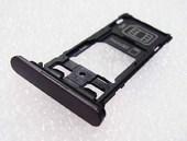 Держатель SIM, SD карты DS Sony Xperia X Performance F8132 Dual (Black), 1302-3713 (оригинал)