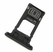 Держатель SIM/SD карты (слот) Sony Xperia X Compact F5321 Black, 1304-1918 (оригинал)