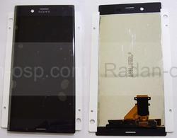 Дисплей с сенсором Sony Xperia XZ F8332/ F8331 Black, 1304-9084 (оригинал), radan-osp.com - оригинальные комплектующие, фото