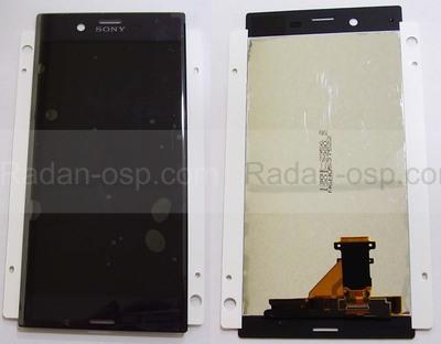 Дисплей с сенсором Sony Xperia XZ F8332/ F8331 Black, 1304-9084 (оригинал)
