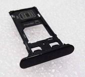 Держатель SIM (слот) dual SIM Sony Xperia XZ F8332 Black, 1304-9121 (оригинал)