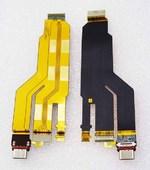 Шлейф с разъемом USB Sony Xperia XZ F8332/ F8331, 1306-1487 (оригинал)