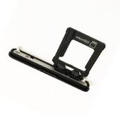 Заглушка разъема SIM/ SD карты с держателем Sony Xperia XZ1 Compact G8441 (Black), 1310-0292 (оригинал)