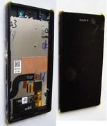 Дисплей с сенсором Sony Xperia M5 E5603/ E5633/ E5653 (Black), 191HLY0003B-BCS (оригинал)