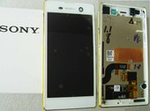 Дисплей с сенсором в сборе Sony Xperia M5 Dual E5633/ E5653 (White), 191HLY0004B-WCS (оригинал)