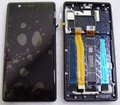 Дисплей с сенсором Type A Nokia 3 (TA-1032) черный дисплейный модуль, 20NE1BW0001 (оригинал)