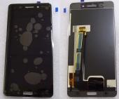 Дисплей с сенсором Nokia 6  (TA-1021) черный дисплейный модуль, 20PLEBW0001 (оригинал)