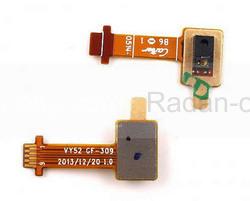 Шлейф Sony D2302/ D2303/ D2305/ D2403 в сборе с датчиком света, 21VY520078W (оригинал), radan-osp.com - оригинальные комплектующие, фото