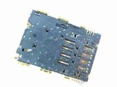 Samsung P1000/ P3100/ P6200 Роз'єм sim карти, 3709-001631 (оригінал)