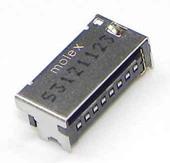 Разъем SD карты Samsung C3782/ S5610/ S6102/ I8150/ S6802, 3709-001681 (оригинал)