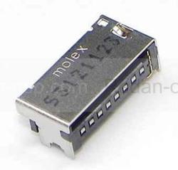 Роз'єм SD карти Samsung C3782/ S5610/ S6102/ I8150/ S6802, 3709-001681 (оригінал), radan-osp.com - оригінальні комплектуючі, фото
