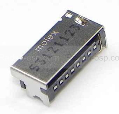 Роз'єм SD карти Samsung C3782/ S5610/ S6102/ I8150/ S6802, 3709-001681 (оригінал)