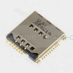 Разъем SIM-карты Samsung G531H/ G361H/ G355H/ J200H/ J500H/ J700H/ G532H, 3709-001799 (оригинал), radan-osp.com - оригинальные комплектующие, фото