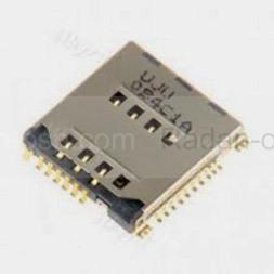 Разъем SIM-карты Samsung G531H/ G361H/ G355H/ J200H/ J500H/ J700H/ G532H, 3709-001799 (оригинал)