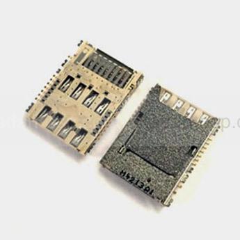 Считыватель SIM и MicroSD Samsung G532F/ G900H/ I9300i/ N7502/ G355H, 3709-001840 (оригинал)