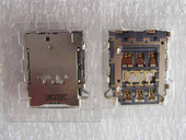Разъем SIM карты Samsung A300H Galaxy A3/ A500H Galaxy A5/ A700H Galaxy A7, 3709-001859 (оригинал)