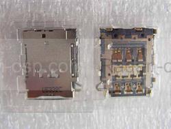 Разъем SIM карты Samsung A300H Galaxy A3/ A500H Galaxy A5/ A700H Galaxy A7, 3709-001859 (оригинал), radan-osp.com - оригинальные комплектующие, фото