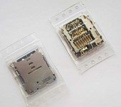 Разъем карты памяти Samsung A300H Galaxy A3/ A500H Galaxy A5/ A700H Galaxy A7, 3709-001860 (оригинал)