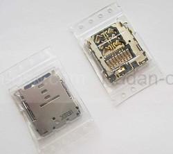 Разъем карты памяти Samsung A300H Galaxy A3/ A500H Galaxy A5/ A700H Galaxy A7, 3709-001860 (оригинал), radan-osp.com - оригинальные комплектующие, фото
