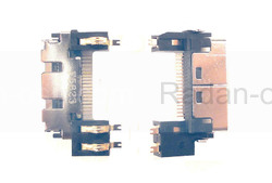 Системный разъем Samsung E600/ E850/ P100/ X450/ X460, 3710-002017 (оригинал), radan-osp.com - оригинальные комплектующие, фото