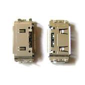 Разъем зарядки (коннектор) Samsung C180/ F270/ F278/ L700/ S3030/ S3500/ S3650/ S8030, 3710-002534 (оригинал)