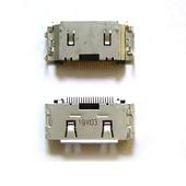 Разъем сокет Samsung C3010/ C3011/ S3600/ S5200, 3710-002568 (оригинал)