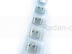 Разъем mini usb Samsung I8910/ I9000/ I9003/ S5350/ S7250/ S7500/ S8600/ S5260/ S5690, 3722-002867 (оригинал), radan-osp.com - оригинальные комплектующие, фото